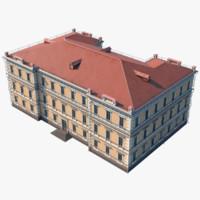 3d model building kiev