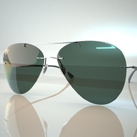 ban aviator light 3d max