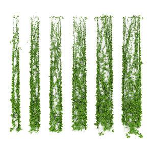 leaves column 6 3d model