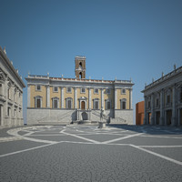 3d model capitoline hill