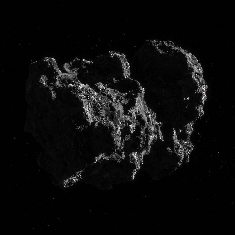 photorealistic comet 3d max