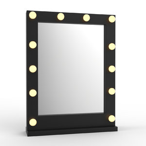 3d makeup mirror model