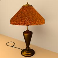 lamp print 3d blend