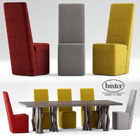 table baxter graz 3d model