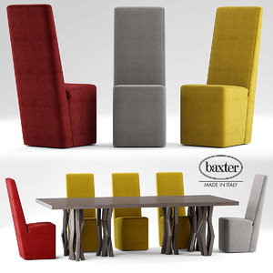 table baxter graz 3d model