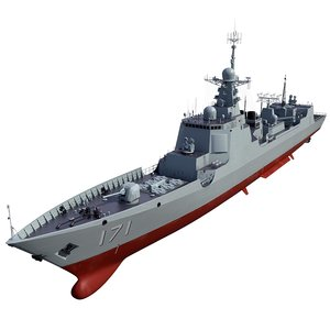 max china type 052c destroyer