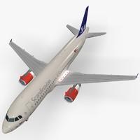 airbus scandinavian airlines dwg