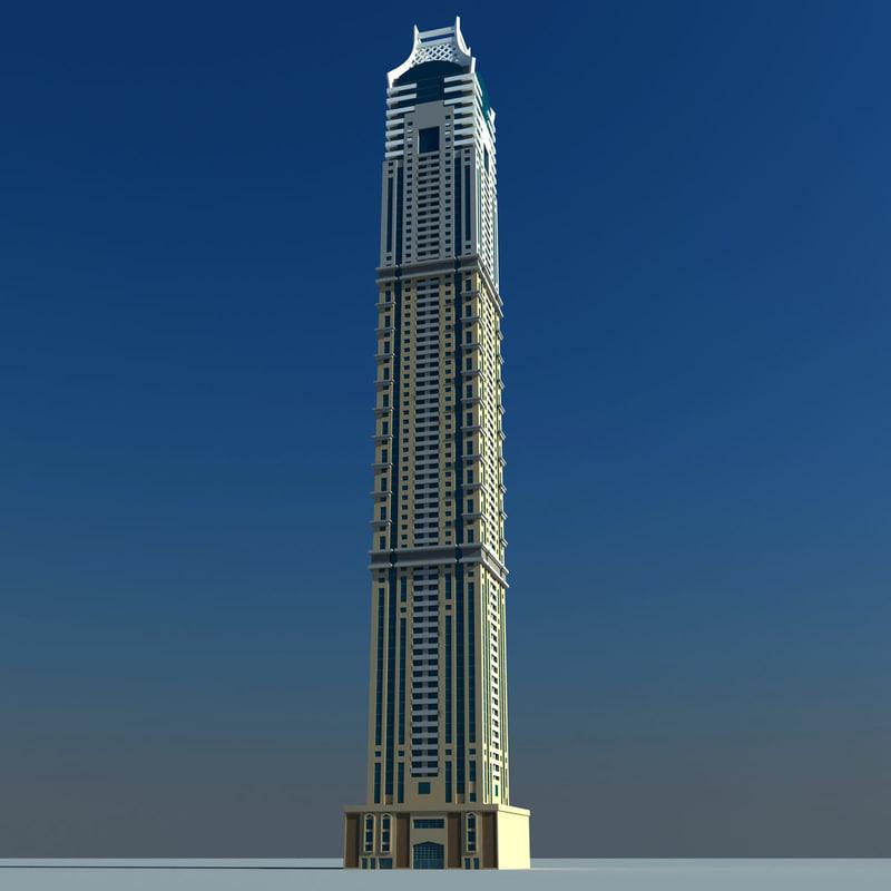 3d elite residence dubai model