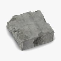 c4d concrete chunk 6