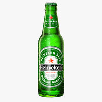 modeled heineken bottle 3d 3ds