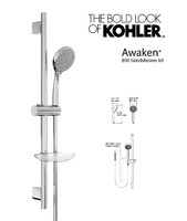 Awaken B90 handshower kit