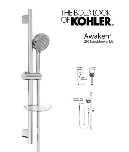 handshower awaken g90 kit 3d model