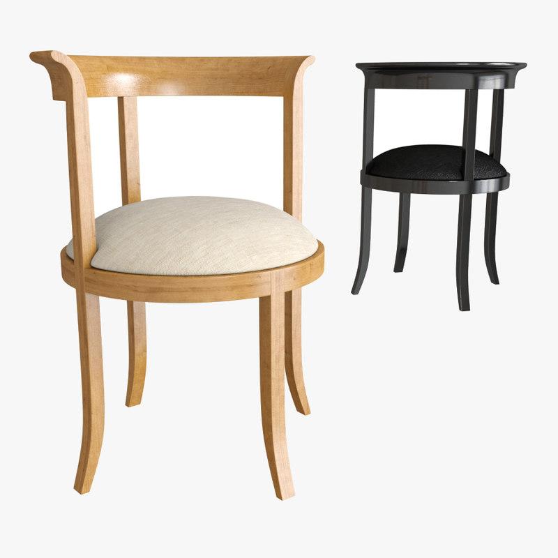 3d model interna adam chair