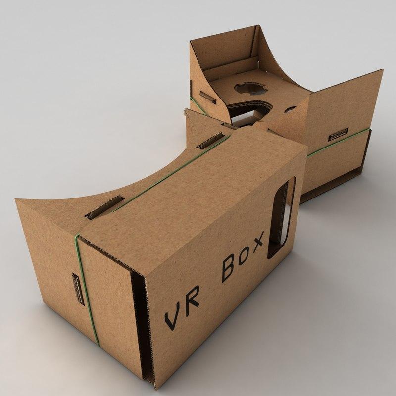 google cardboard 3d max