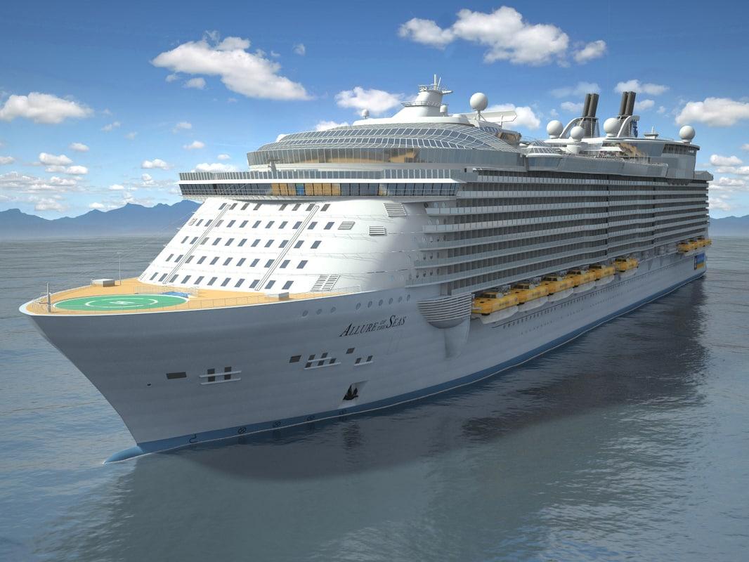3d allure seas cruise model