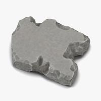 concrete chunk 2 3d max