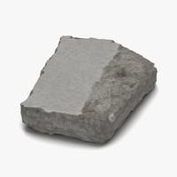 concrete chunk 3 max