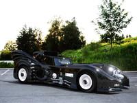 betmobil 3d model
