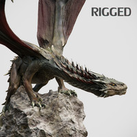 3d model dragon animation
