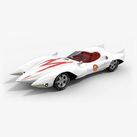 3d 3ds mach 5 car speed