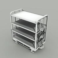 Transport Cart - Low Poly