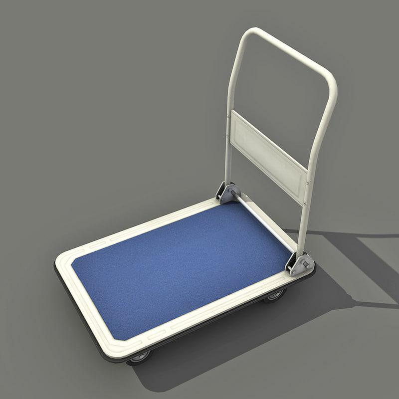 transport cart - 3d 3ds