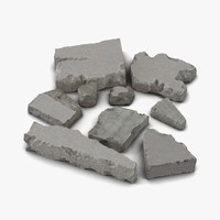 Concrete Chunks Set
