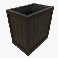 3d modern trash model