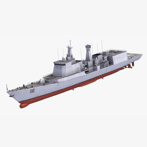 type051c destroyer 3ds