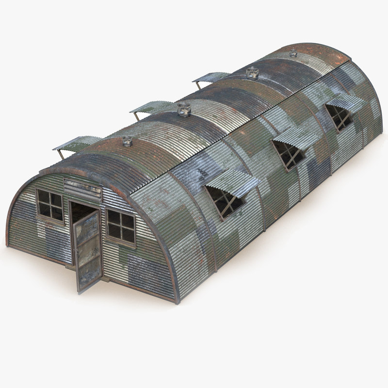 max quonset barrack rust