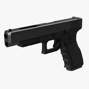 glock 34 3d obj