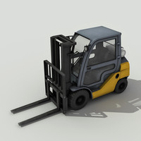 Forklift - Low Poly