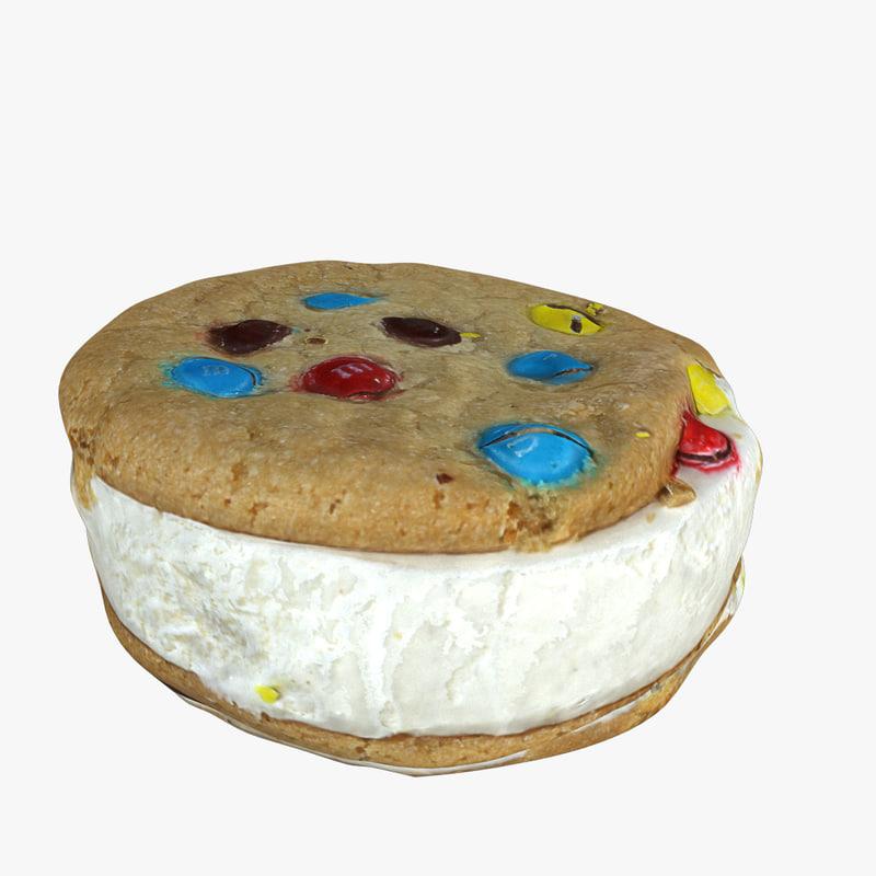 ice cream cookie 3ds
