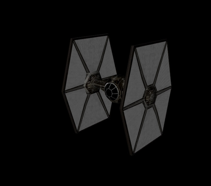 tie fighter order 3d model