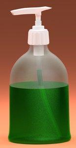 3d model liquid soap