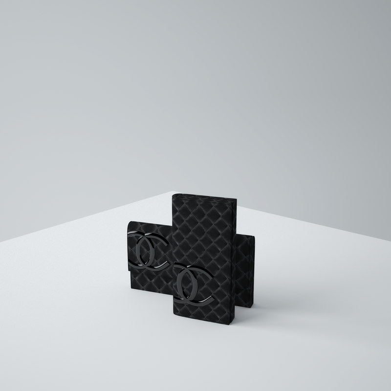 3d chanel bag