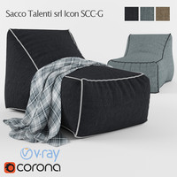 Garden armchair Sacco Talenti srl Icon SCC-G