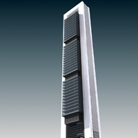 3d model torre caja