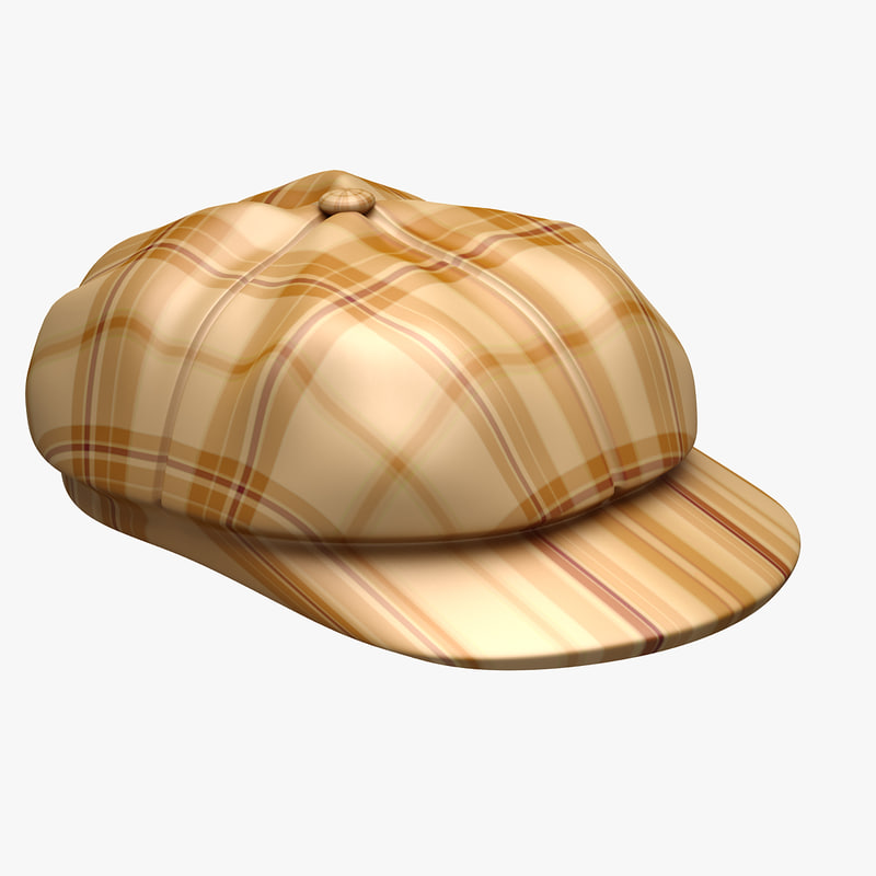 3d model grandpa hat