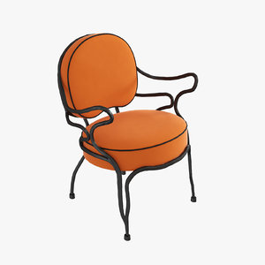 lounge chairs elizabeth garouste 3d max