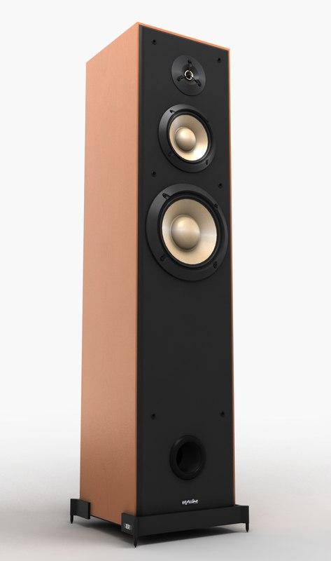 tall speaker 3d model