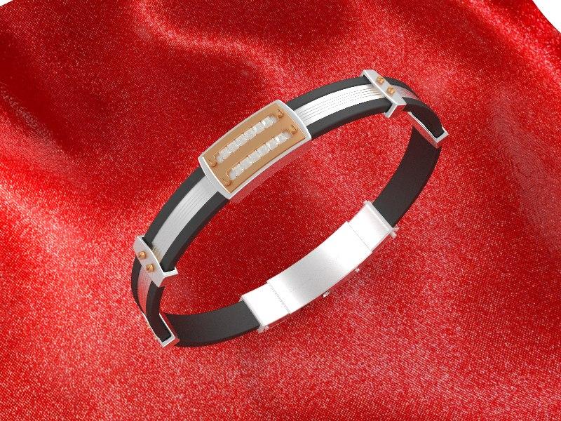 bracelet 3d max