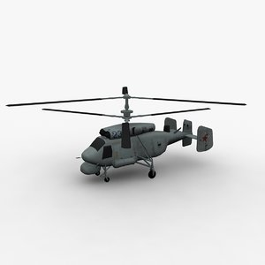 3d model ka-25 kamov