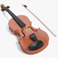 3d max violin