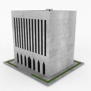 3d office build 17