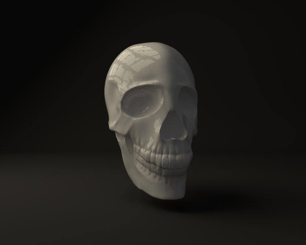 obj skull