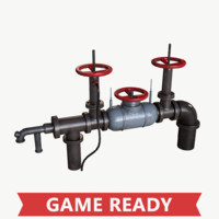 Industrial Wellhead with Valve