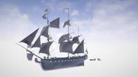 Trade Sailboat