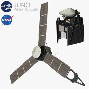 3d model juno mission jupiter