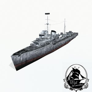 gnevny class destroyers 3ds